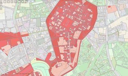 Mapa Dla Architektow I Planistow Msip Krakow